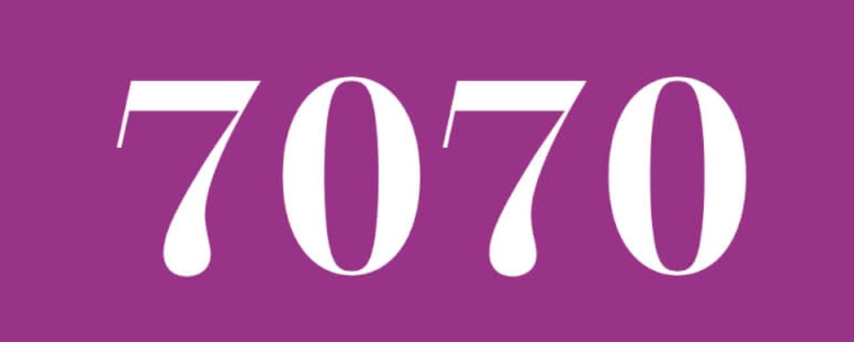 Zahl 7070