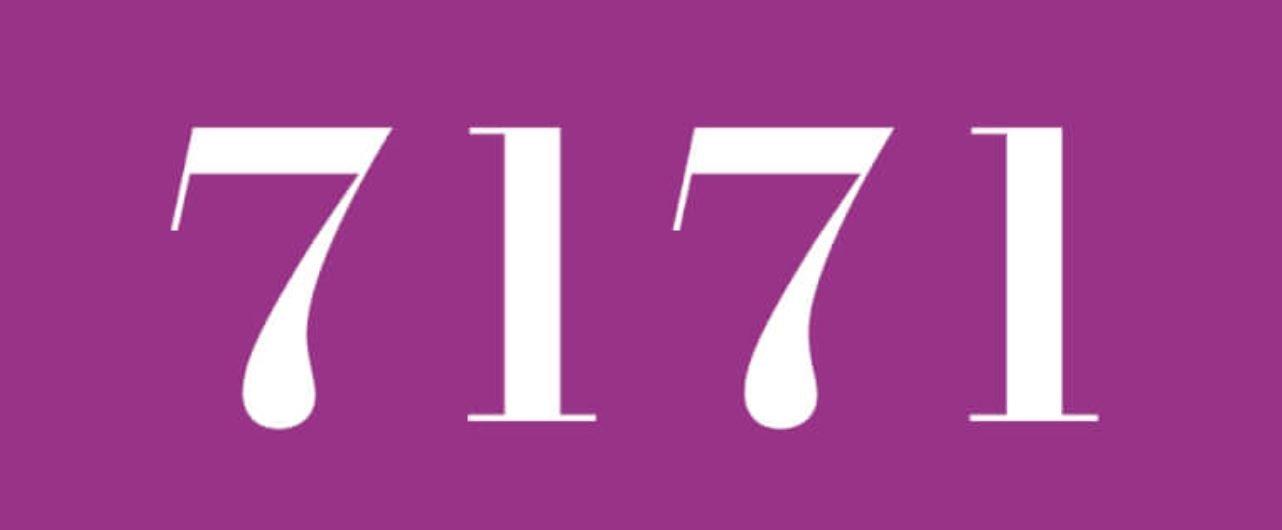 Zahl 7171