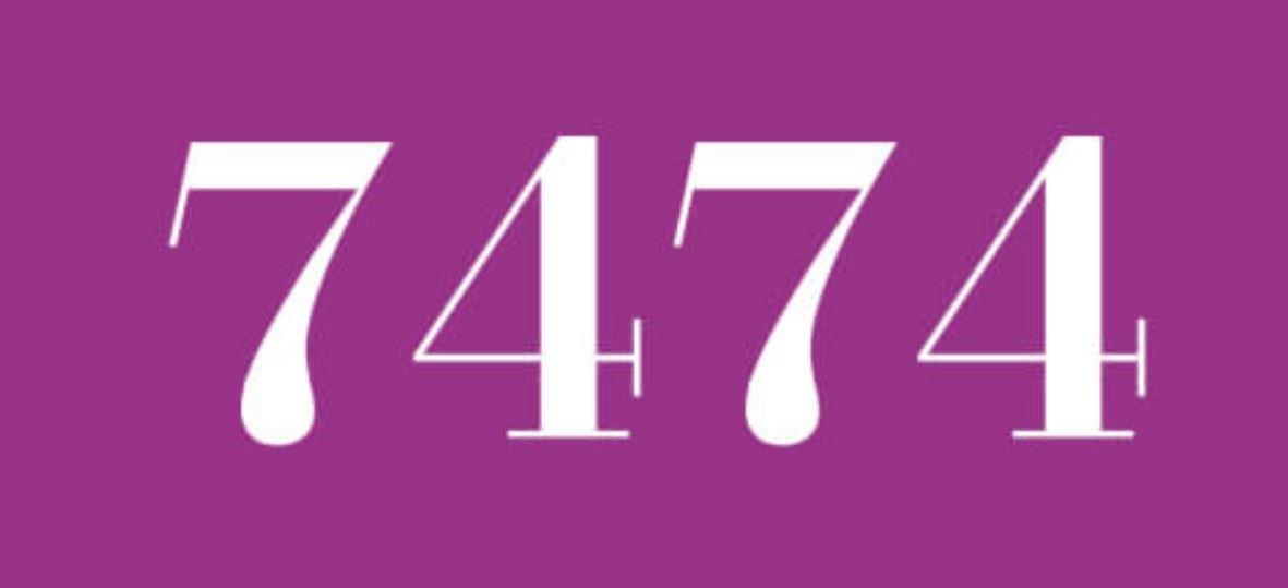 Zahl 7474