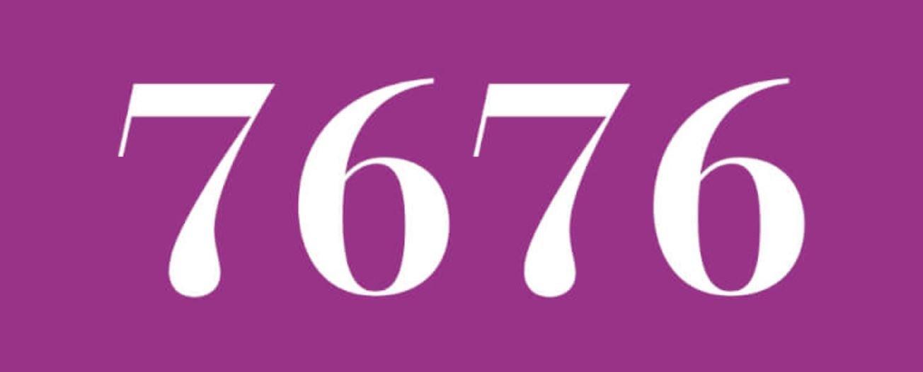 Zahl 7676