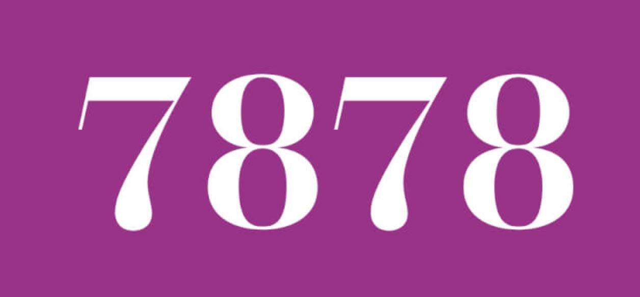 Zahl 7878