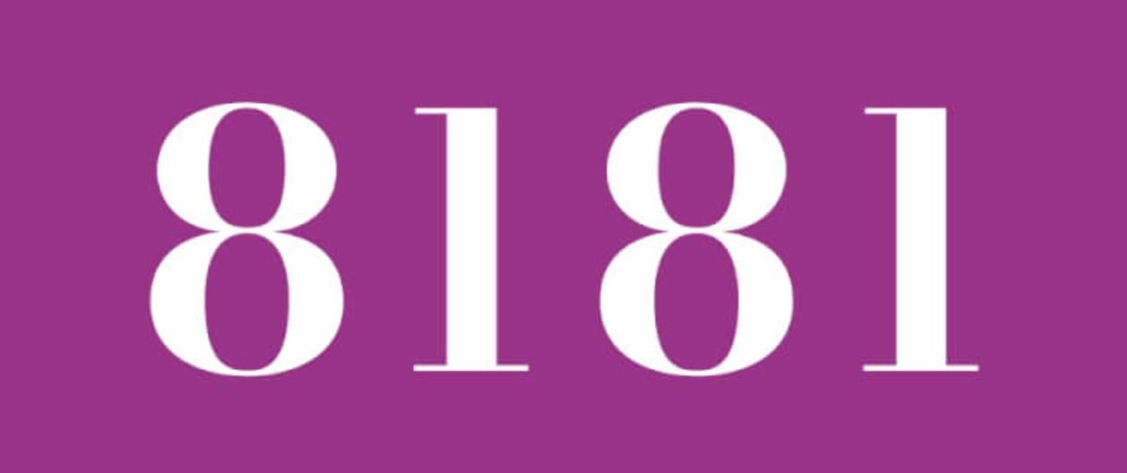 Zahl 8181