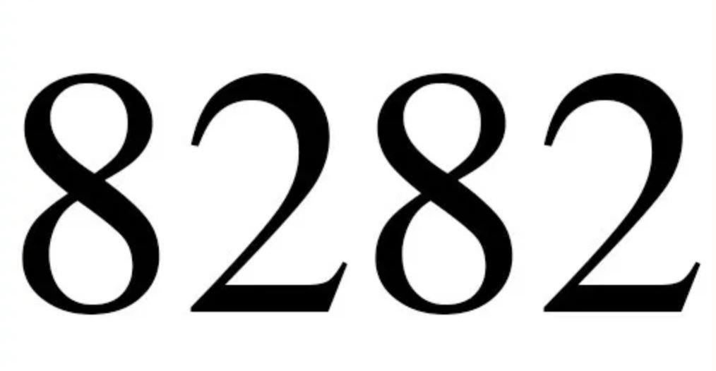 Zahl 8282