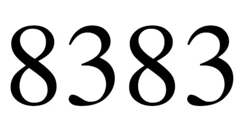 Zahl 8383