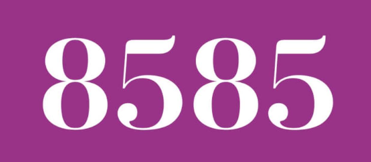 Zahl 8585