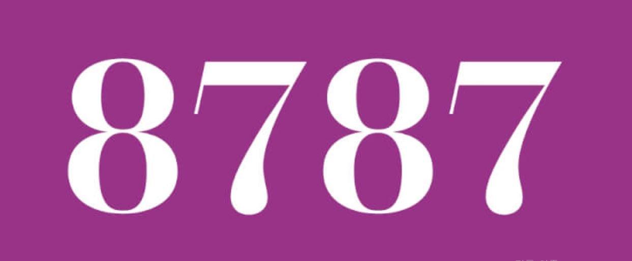 Zahl 8787