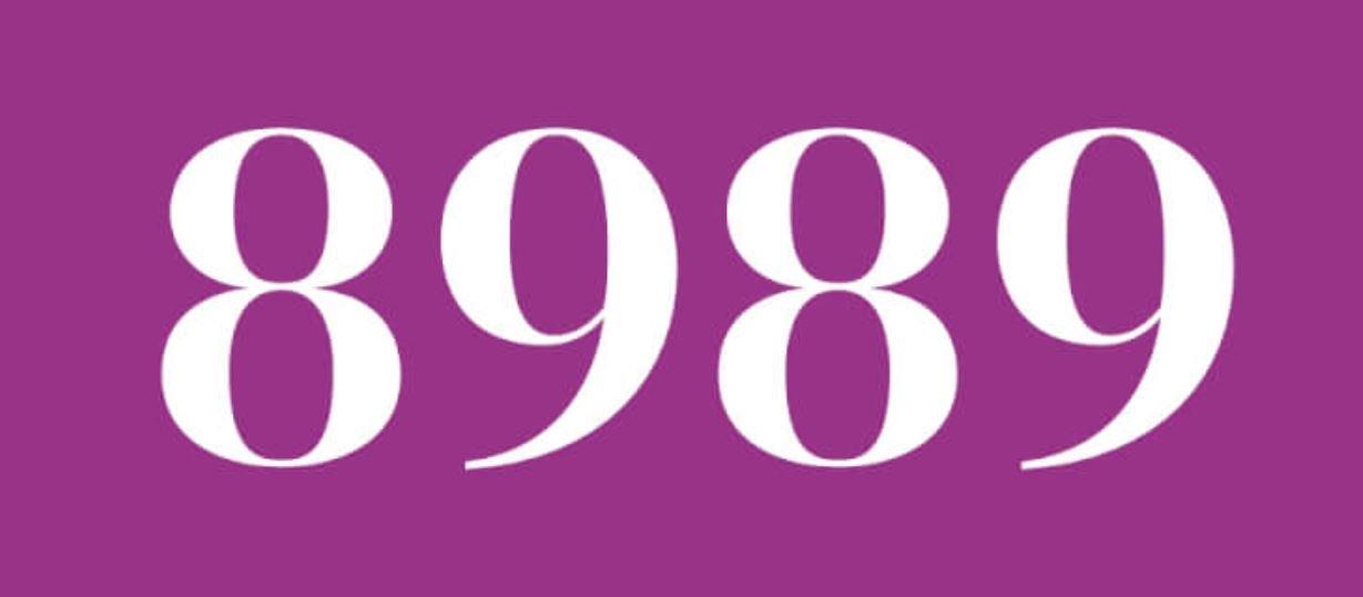 Zahl 8989