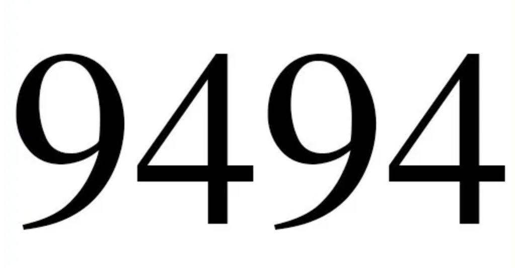 Zahl 9494