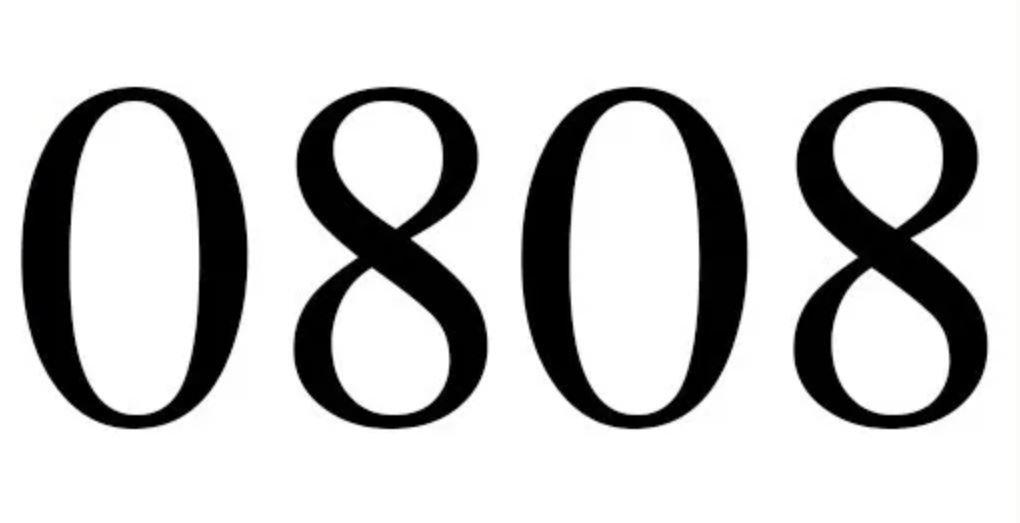 Engelszahl 0808