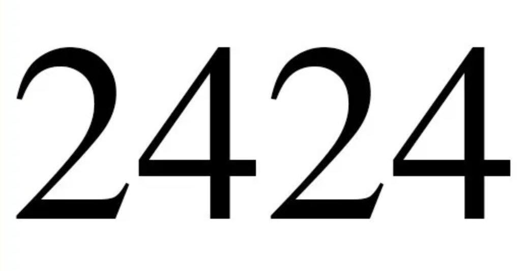 Engelszahl 2424