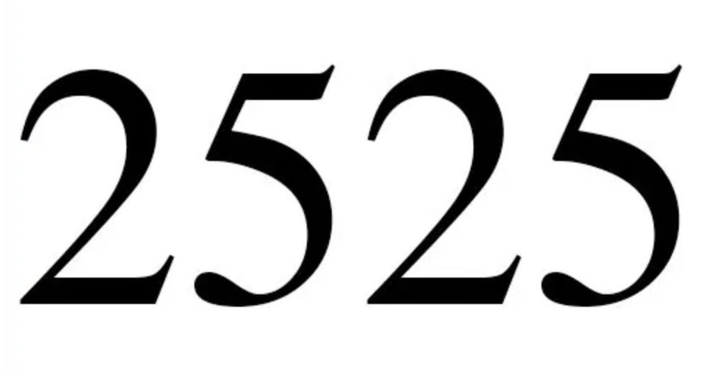 Engelszahl 2525