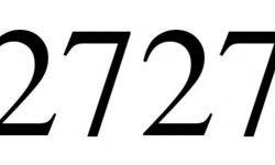 Engelszahl 2727: Symbole und ihre Bedeutung