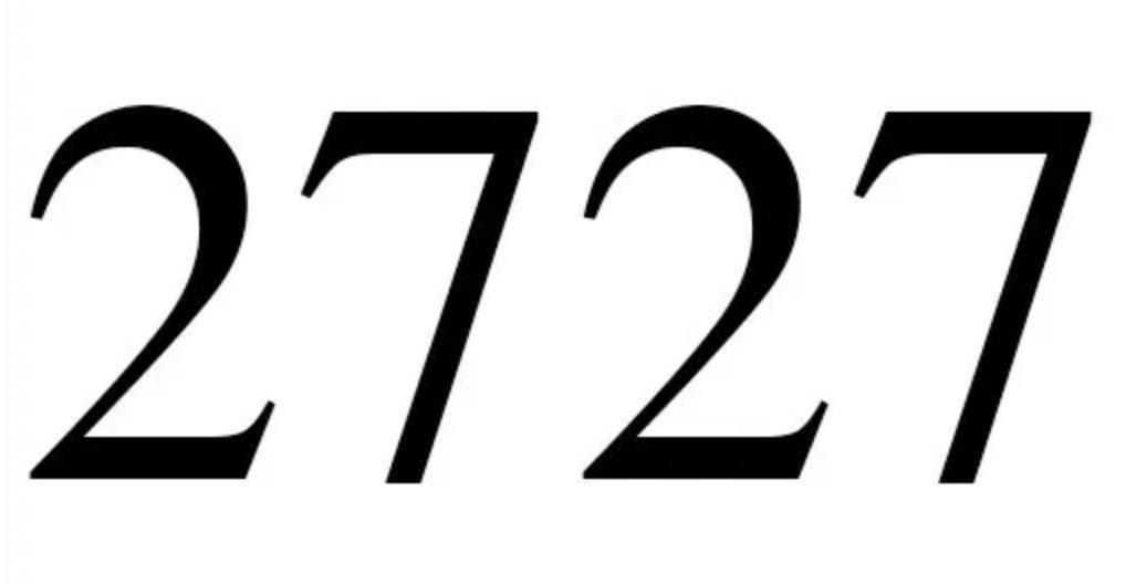 Engelszahl 2727