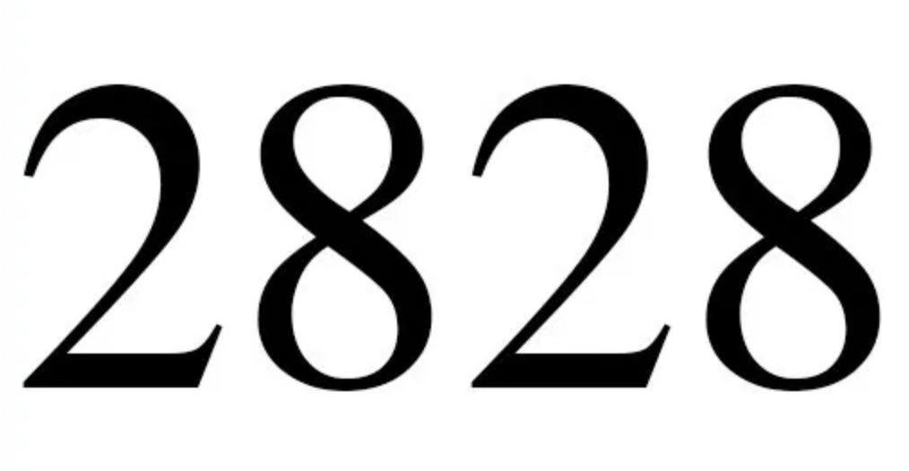 Engelszahl 2828