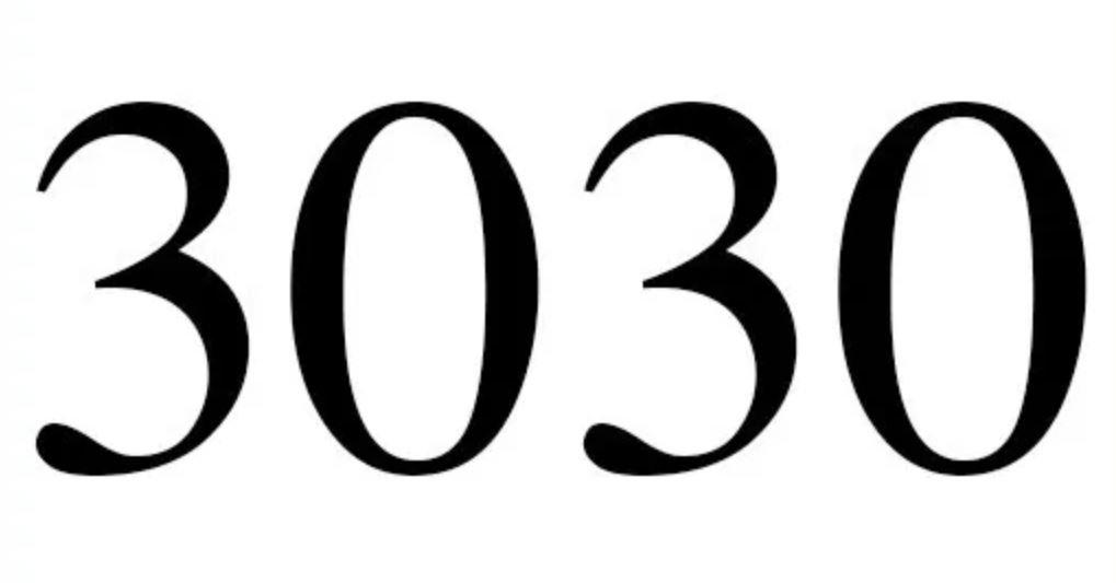 Engelszahl 3030
