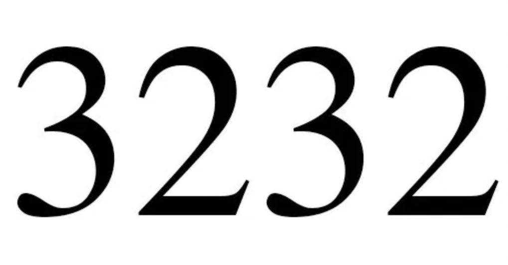 Engelszahl 3232