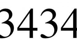 Engelszahl 3434: Symbole und ihre Bedeutung