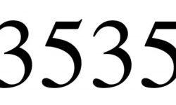 Engelszahl 3535: Symbole und ihre Bedeutung