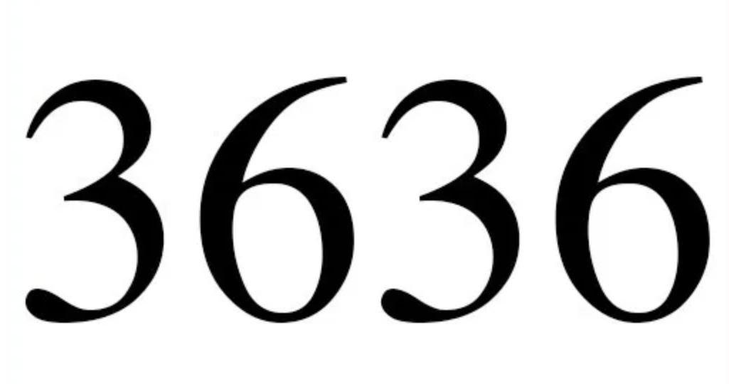 Engelszahl 3636