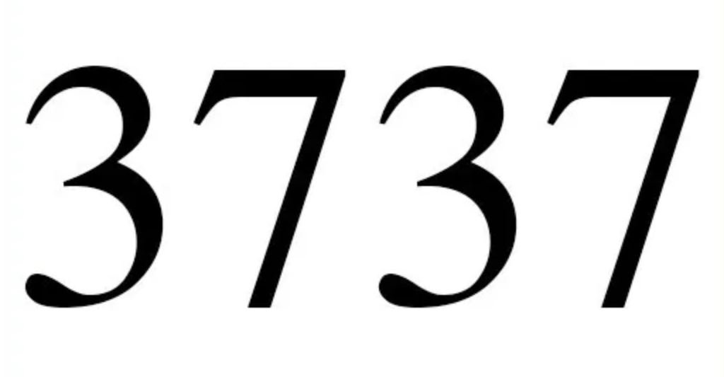 Engelszahl 3737