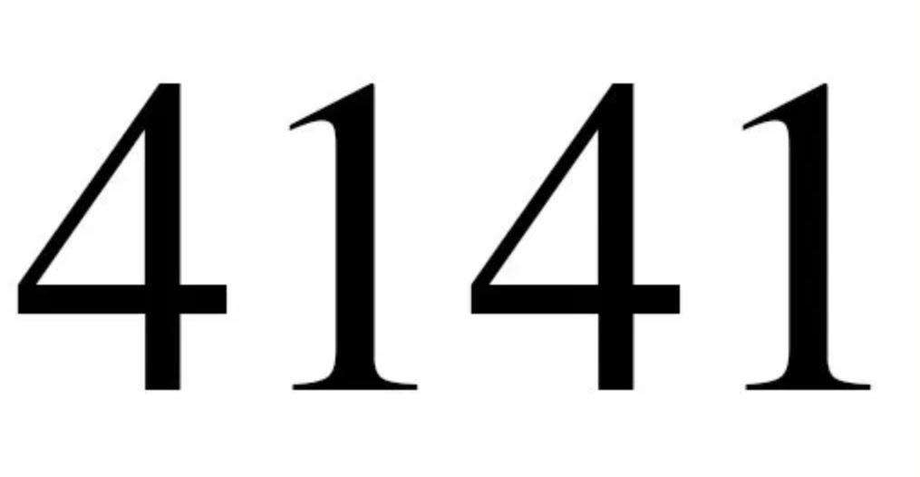 Engelszahl 4141