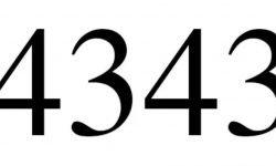 Engelszahl 4343: Symbole und ihre Bedeutung