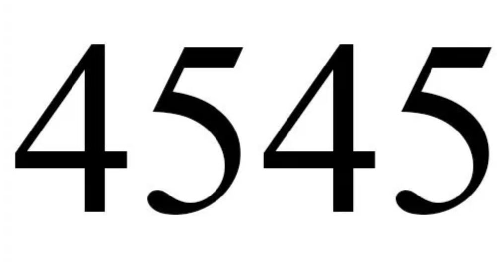 Engelszahl 4545