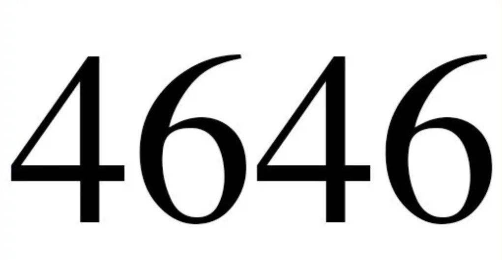 Engelszahl 4646