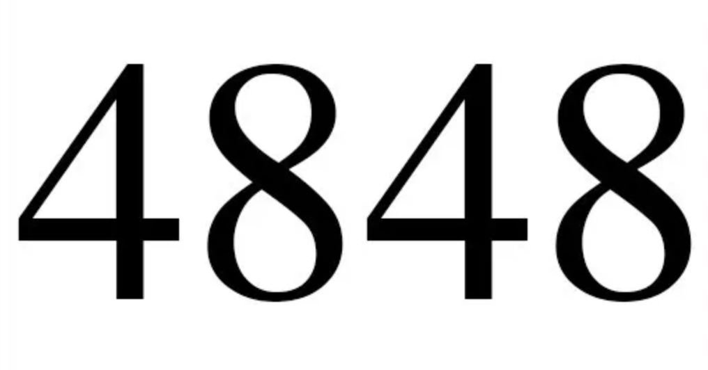 Engelszahl 4848