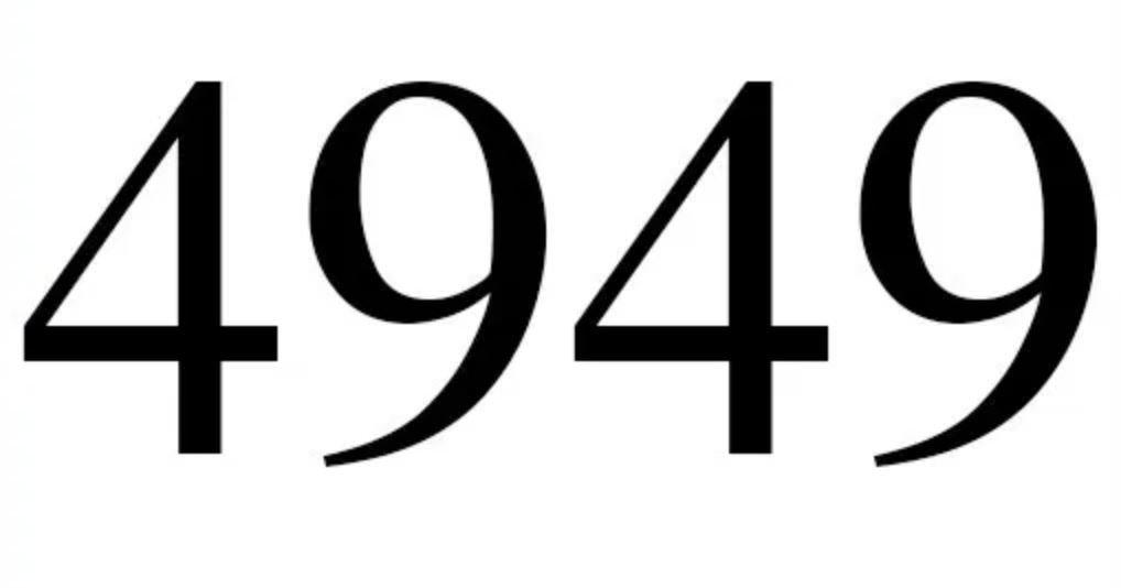 Engelszahl 4949