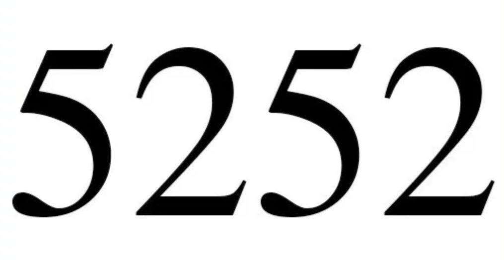 Engelszahl 5252