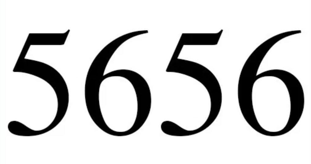 Engelszahl 5656