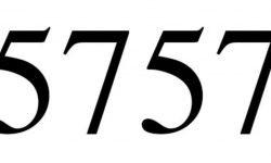 Engelszahl 5757: Symbole und ihre Bedeutung