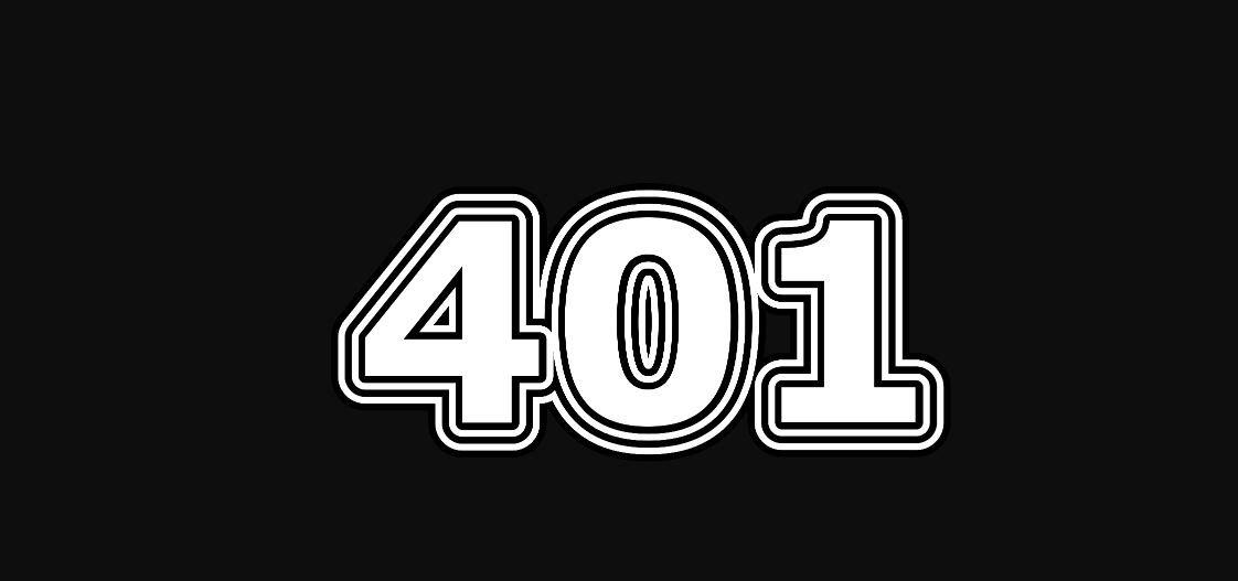 Engelszahl 401