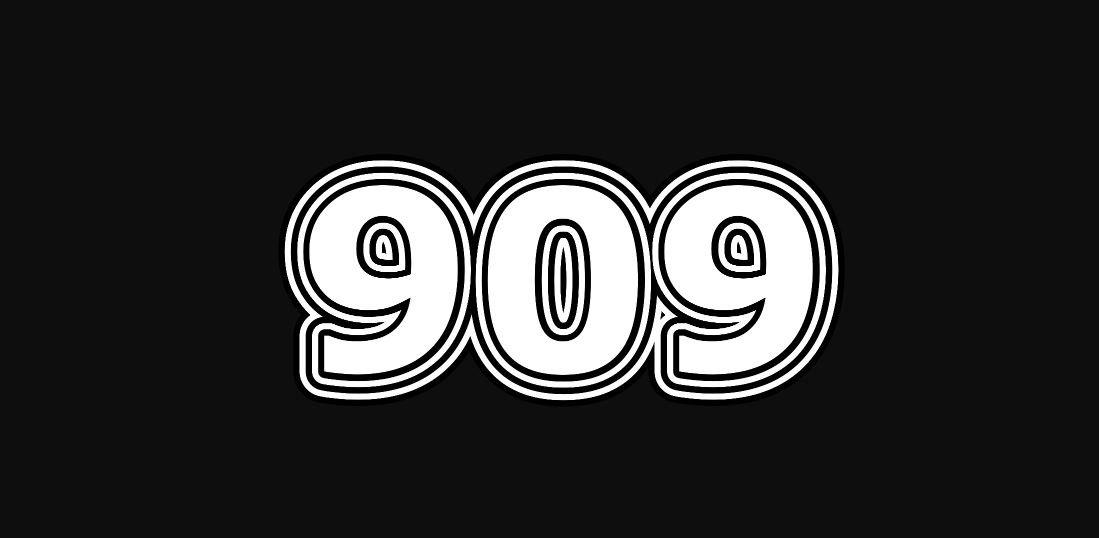 Engelszahl 909