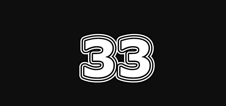 Meisterzahl 33