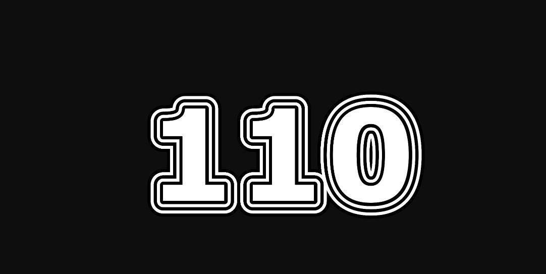 Die Bedeutung der Zahl 110