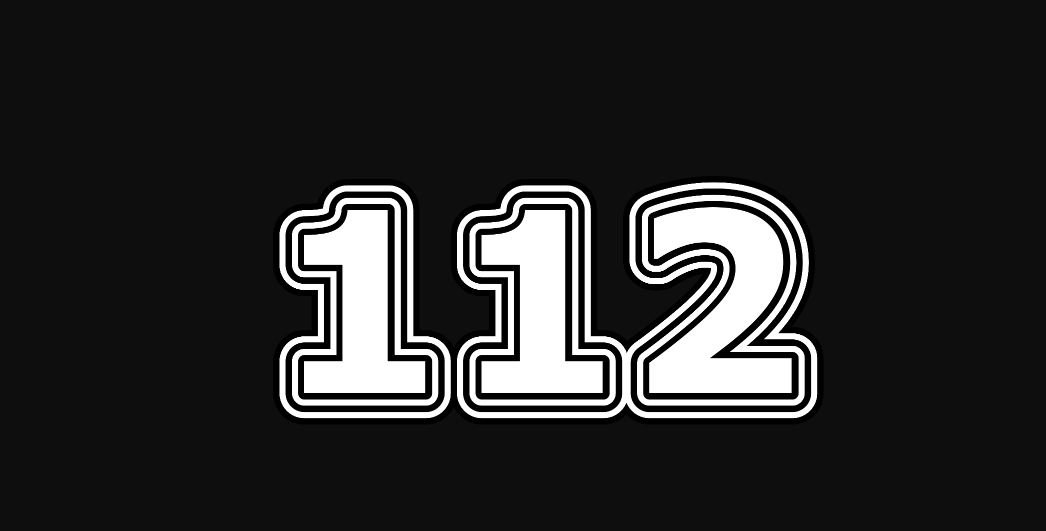 Die Bedeutung der Zahl 112
