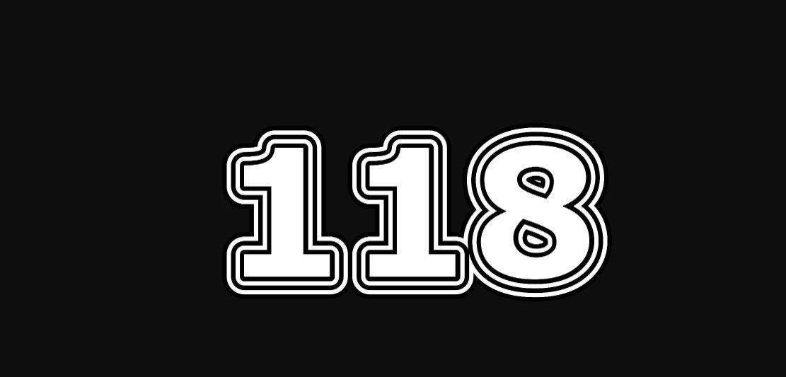 Die Bedeutung der Zahl 118