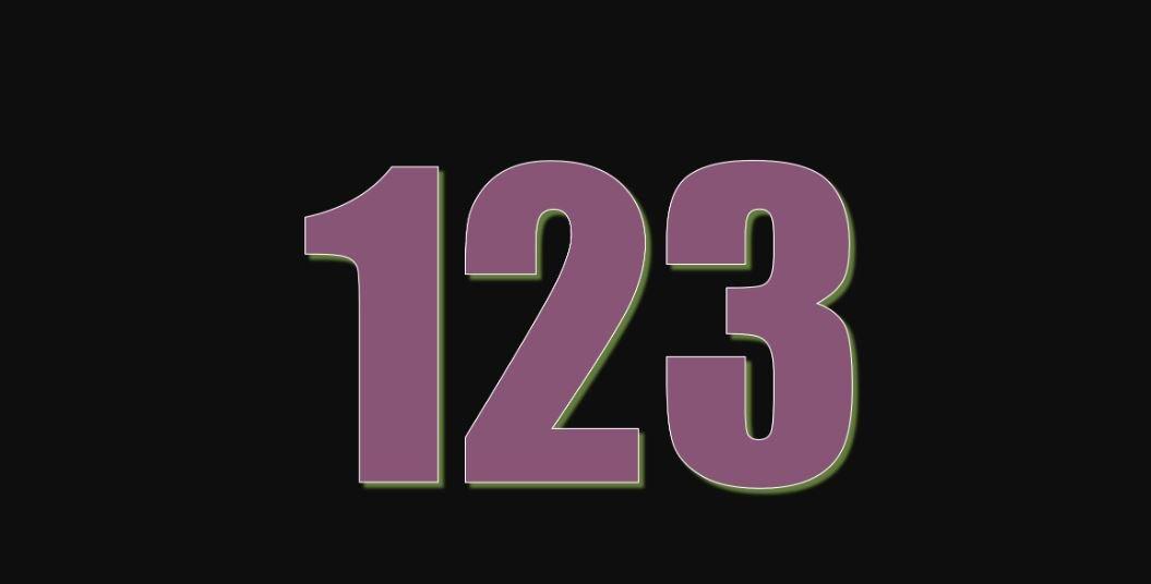 Die Bedeutung der Zahl 123