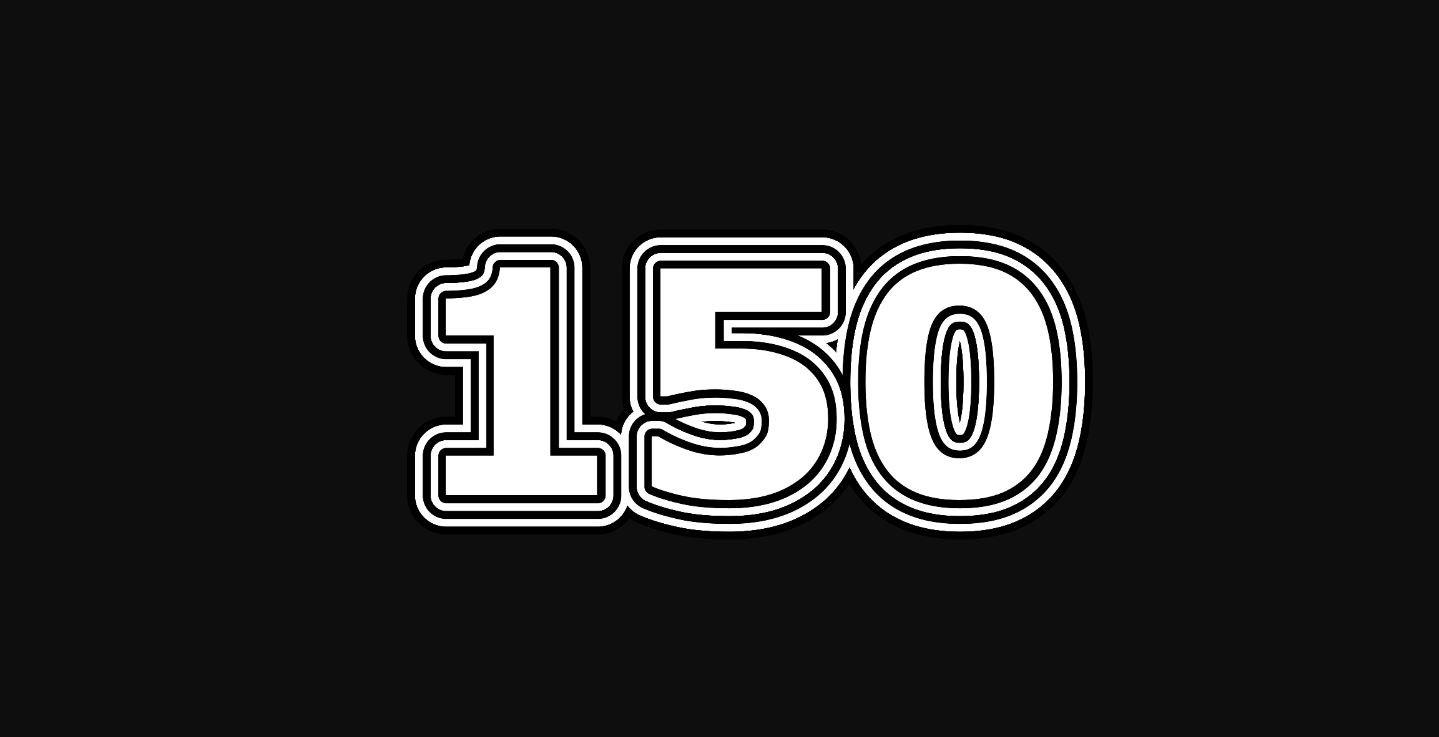 Die Bedeutung der Zahl 150