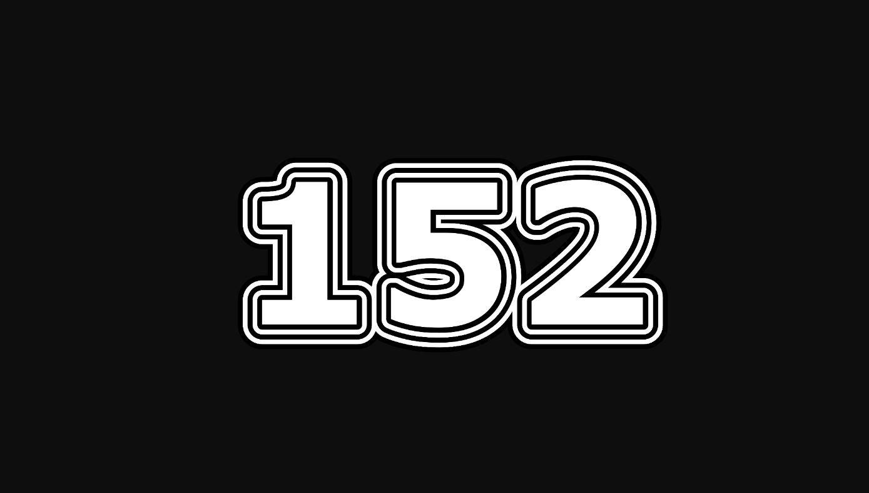 Die Bedeutung der Zahl 152
