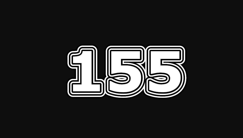 Die Bedeutung der Zahl 155