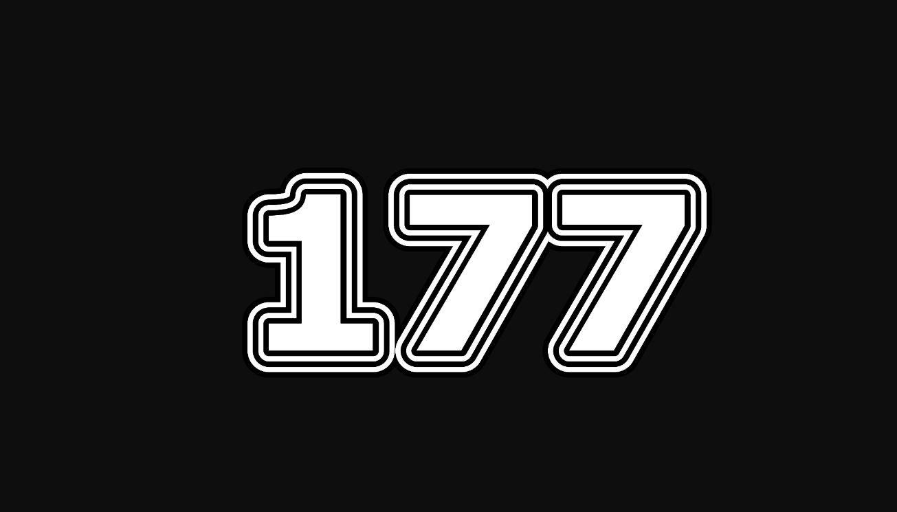 Die Bedeutung der Zahl 177