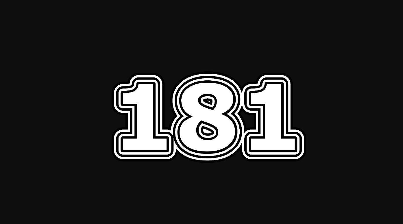 Die Bedeutung der Zahl 181