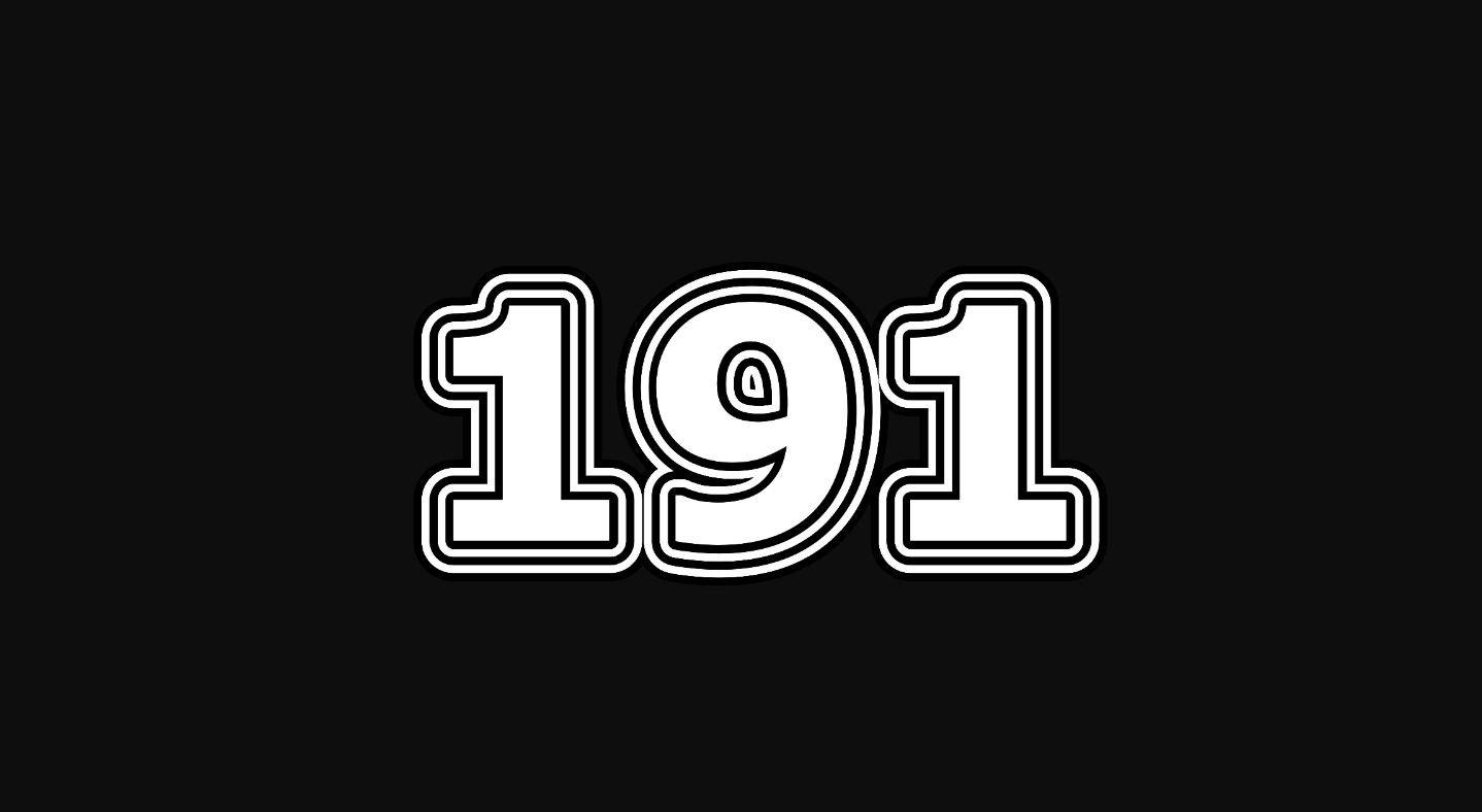 Die Bedeutung der Zahl 191