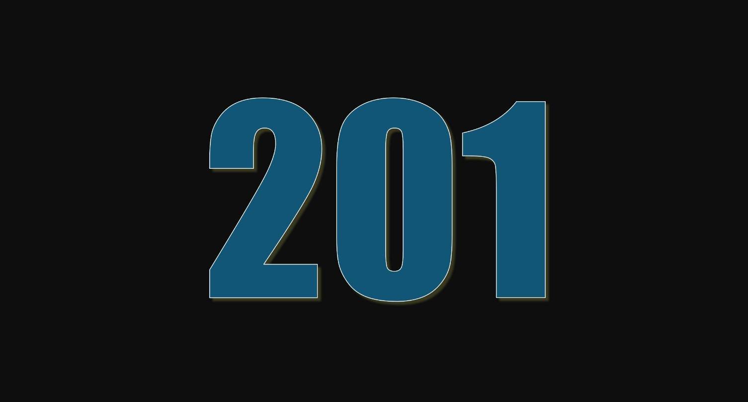 Die Bedeutung der Zahl 201