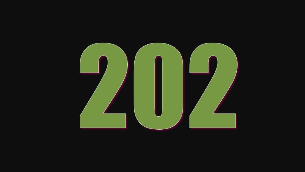Die Bedeutung der Zahl 202