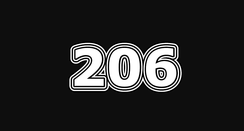 Die Bedeutung der Zahl 206