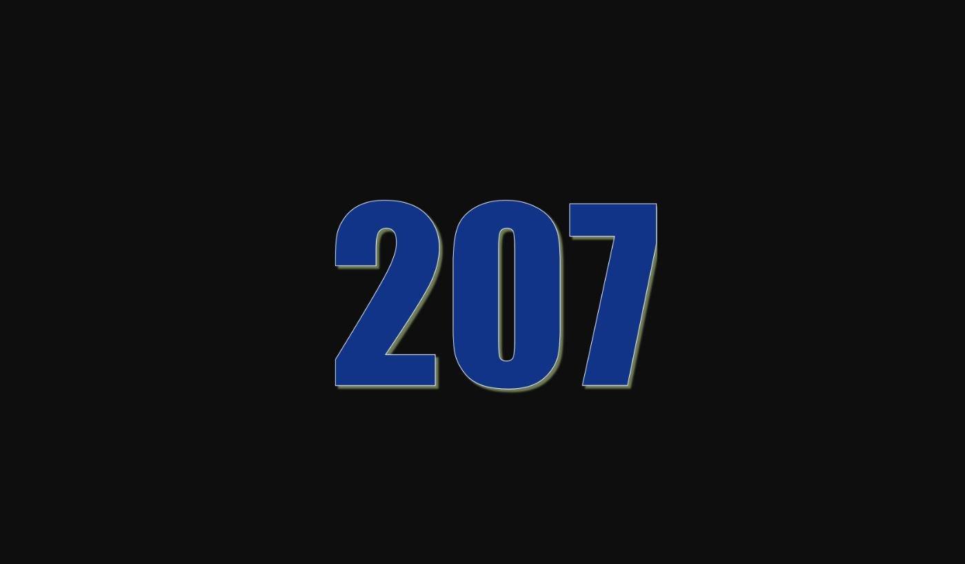 Die Bedeutung der Zahl 207
